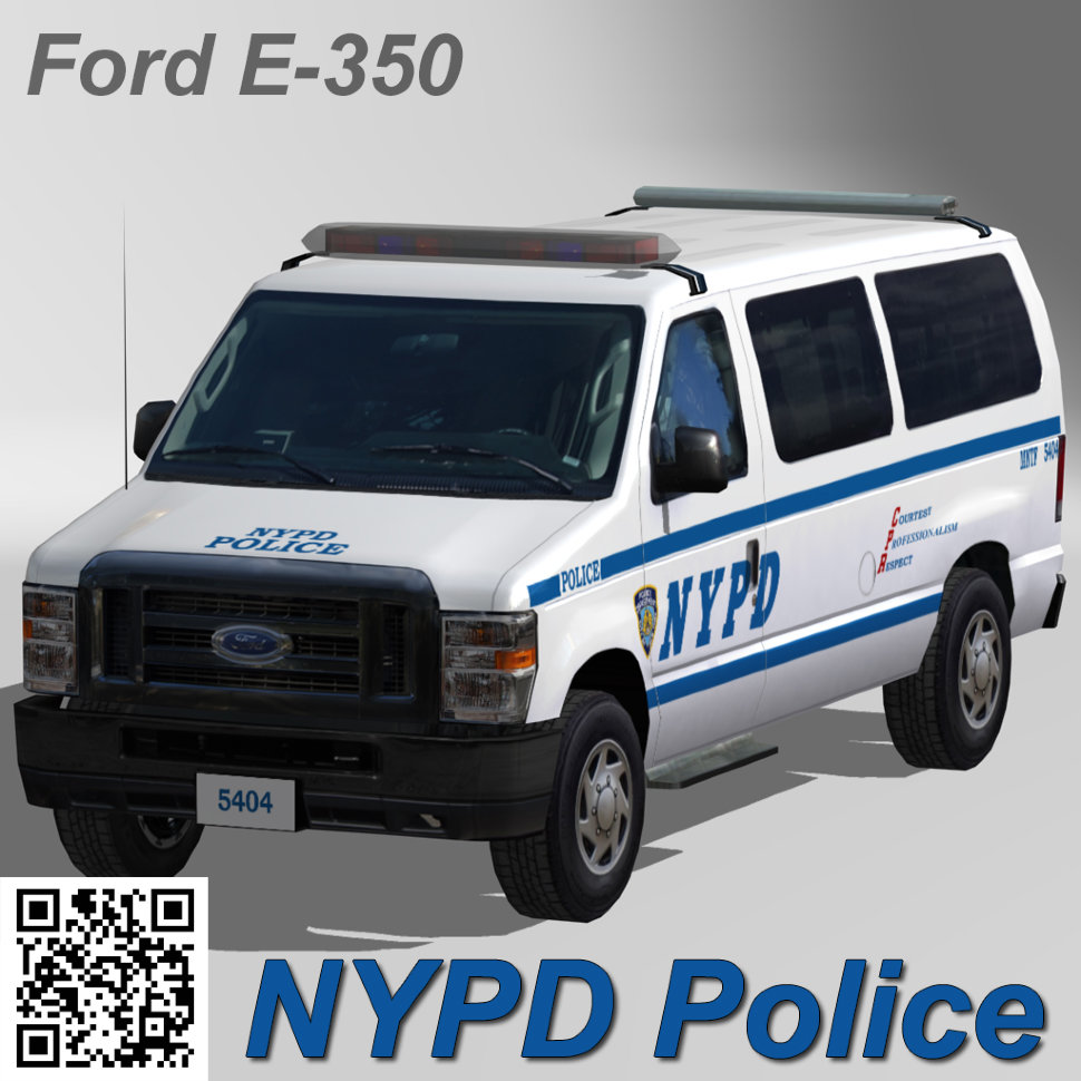 ford e 350 nypd police car. Black Bedroom Furniture Sets. Home Design Ideas