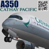 Airbus A350-900 XWB Cathay Pacific