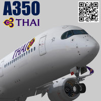 Airbus A350-900 XWB Thai Airways