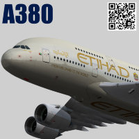 Airbus A380-8 Etihad Airways livery