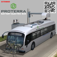 Proterra electric 40 Foot Transit Vehicle Extended